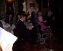 Image 9 - Waiting in the Josephine room at Langley Castle